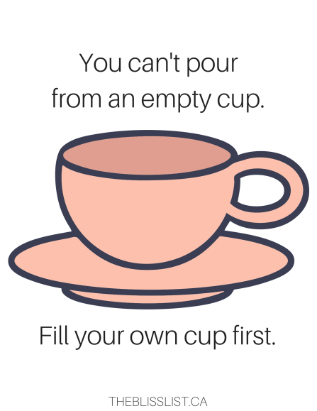You can't pour from an empty cup.-2